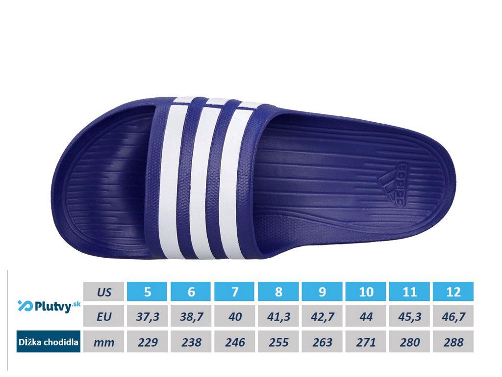 Adidas Duramo Slide Veľkosť: 6