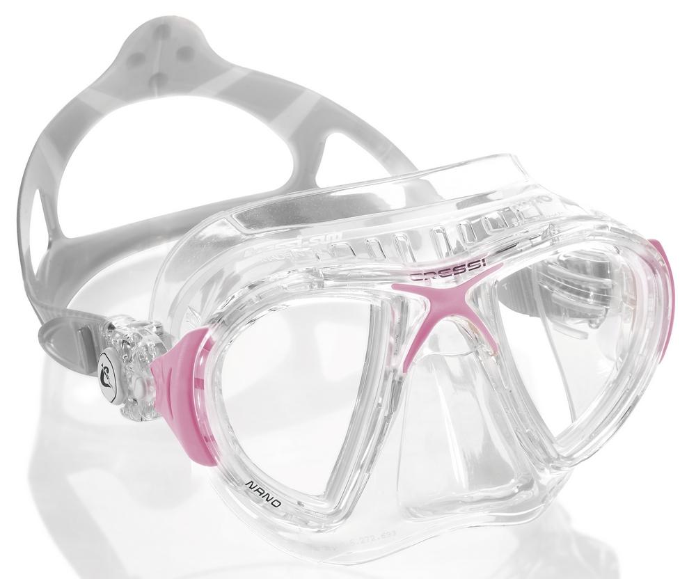 Cressi Nano Crystal Farba: ružová