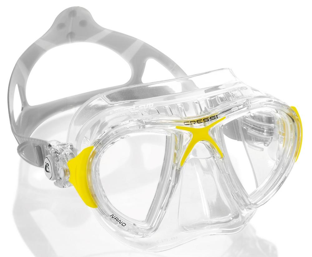 Cressi Nano Crystal Farba: žltá