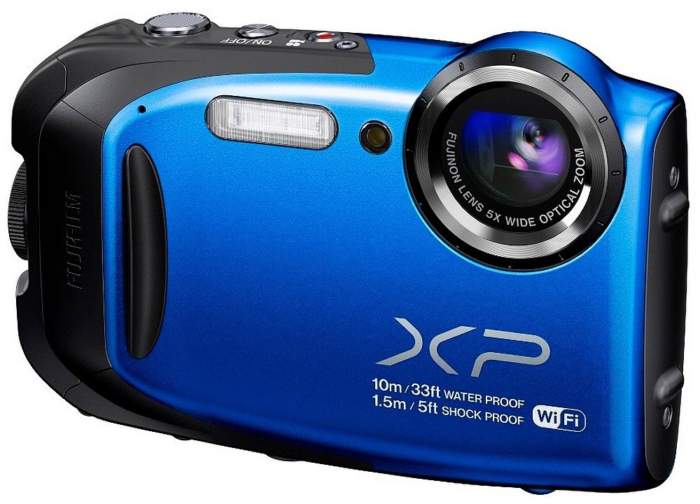Fuji Finepix XP70 Farba: modrá