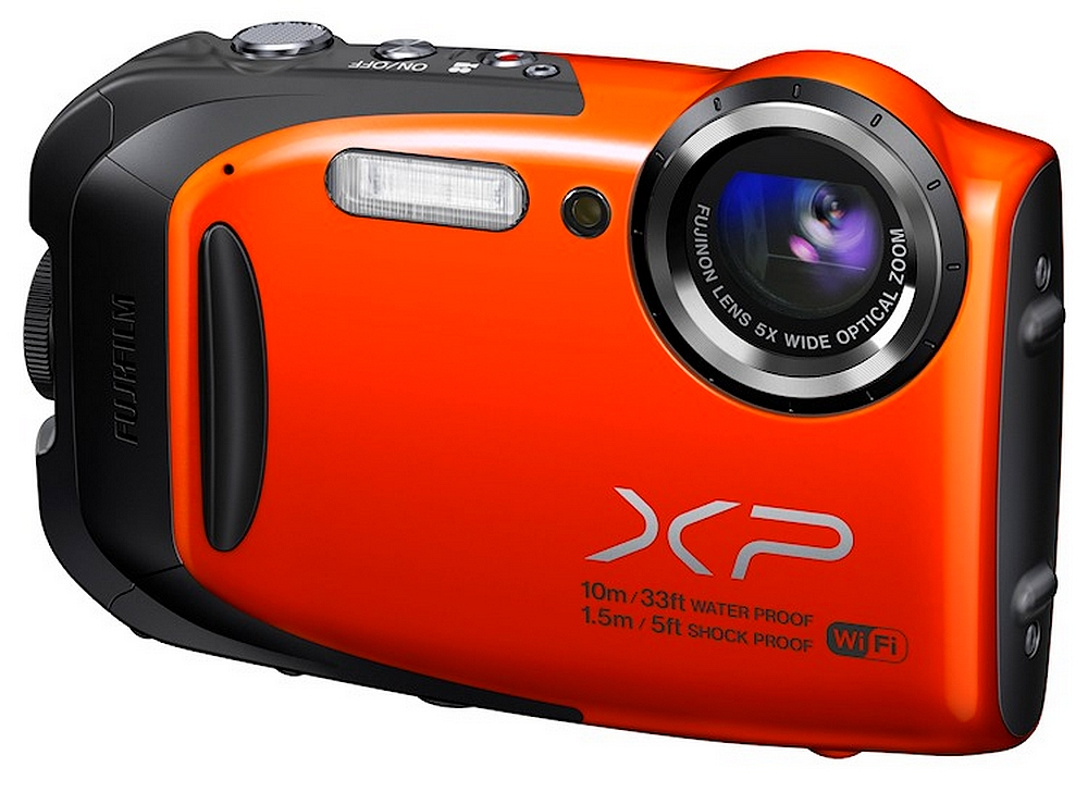 Fuji Finepix XP70 Farba: oranžová