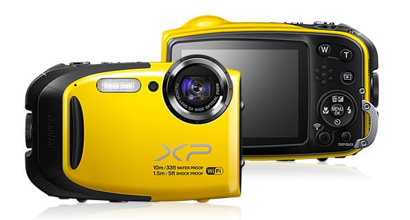 Fuji Finepix XP70 Farba: žltá