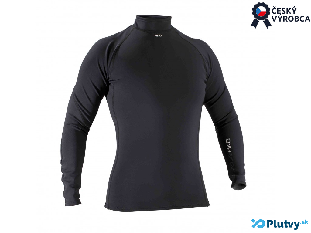 Hiko Slim tričko Veľkosť: XL, Varianta: pánske čierne