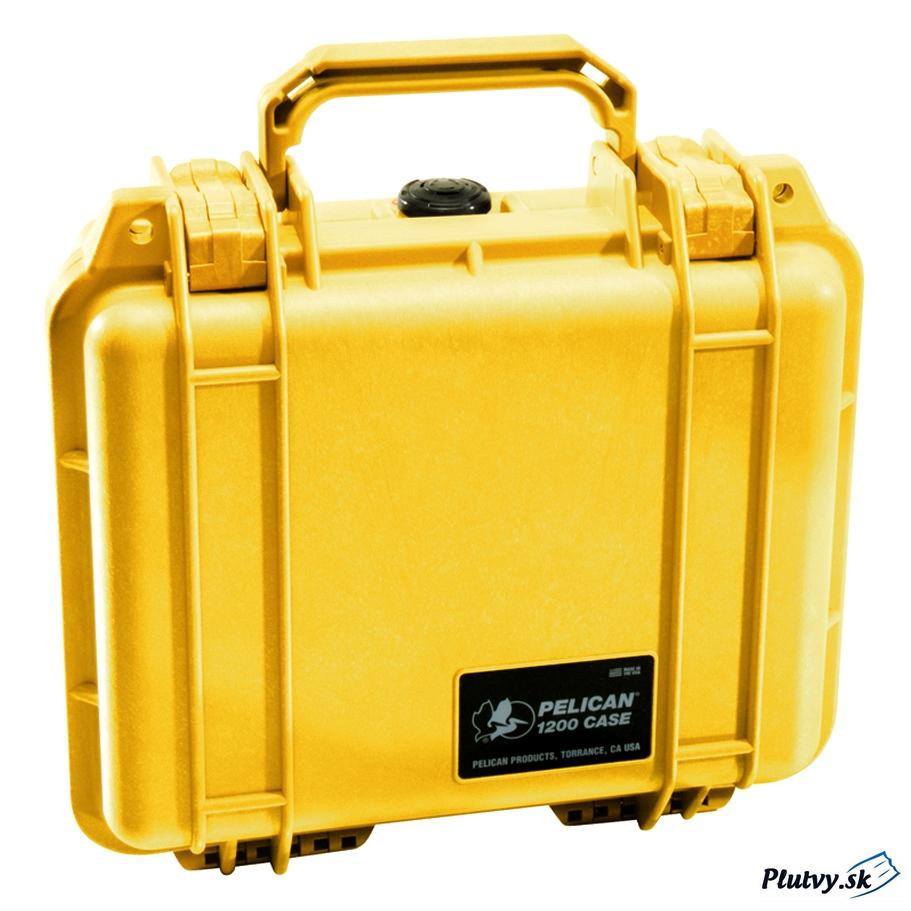 Peli Case Farba: žltá, Veľkosť: Peli 1120
