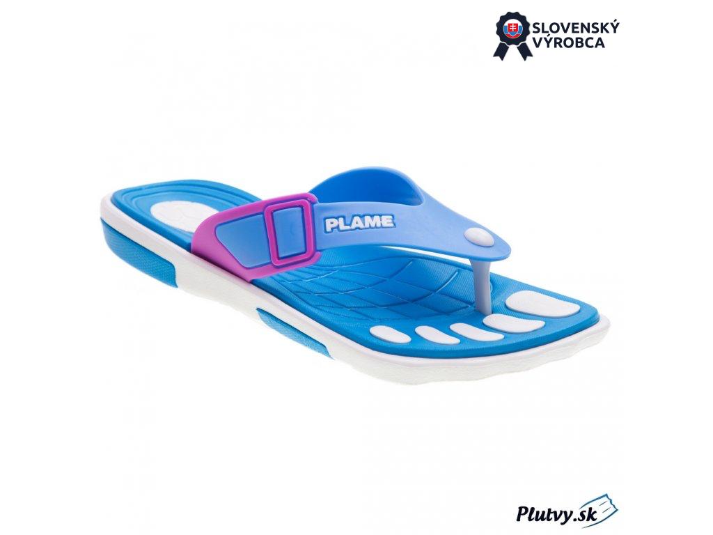 Flame dámska plážová obuv modrá, 36