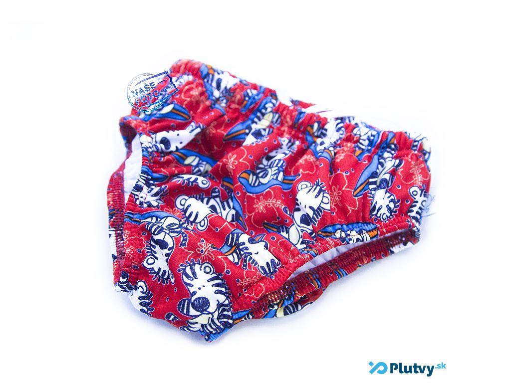 Little Stars plavky s plienkou Farba: červený tigrík, Veľkosť: S 62/68
