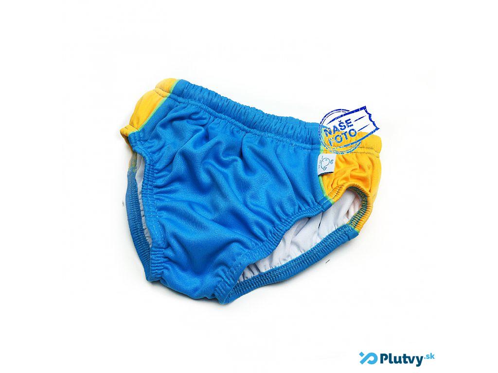 Little Stars plavky s plienkou Farba: modrožlté, Veľkosť: M 74/80