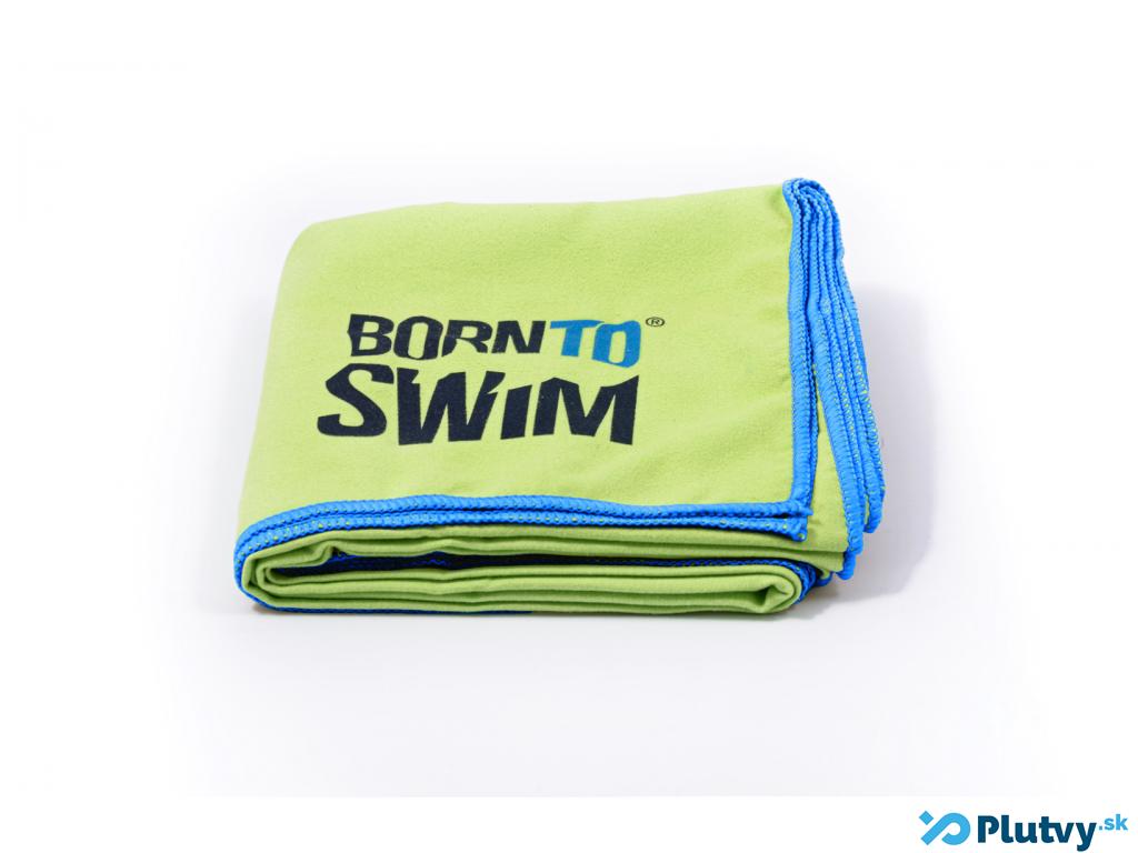 Plavecký uterák BornToSwim Farba: zelená