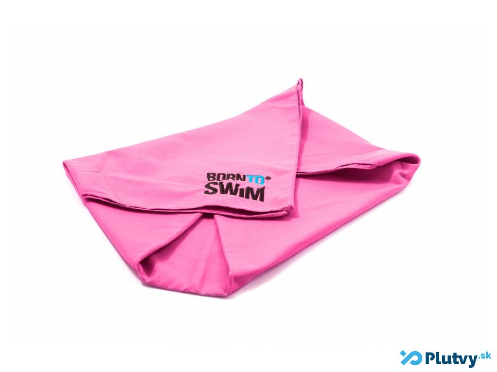Plavecký uterák BornToSwim Farba: ružová