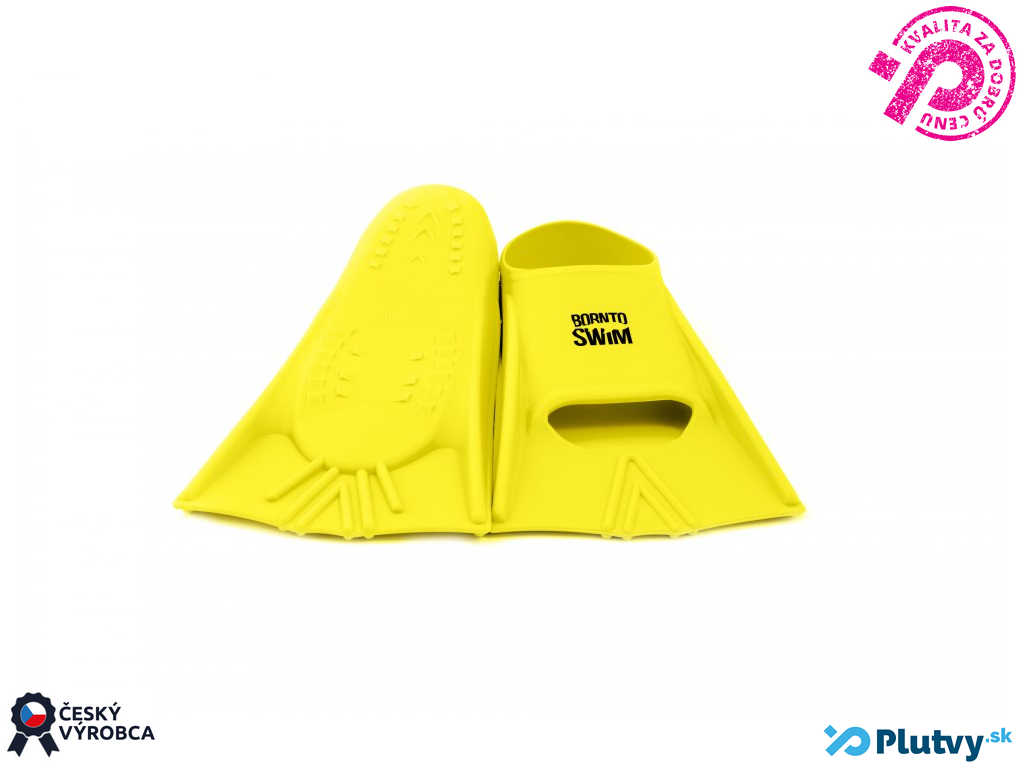 BornToSwim Happy Farba: žltá, Veľkosť: 33/35