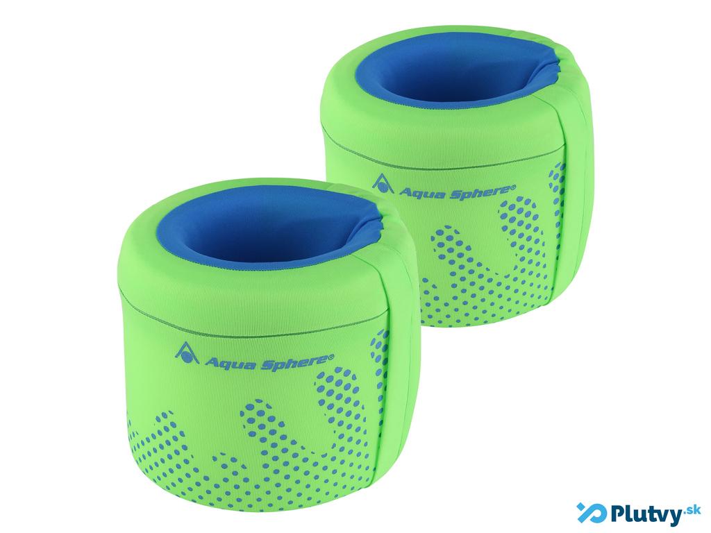 Detské rukáviky Aqua Sphere Farba: zelená, Veľkosť: 2-3 roky