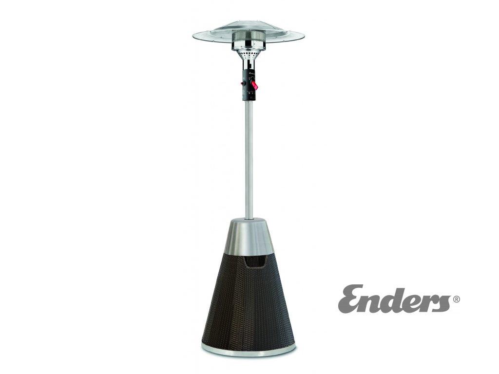 Enders Rattan tepelný plynový zářič (topidlo) + obal zdarma!!  + regulátor plynu ZDARMA