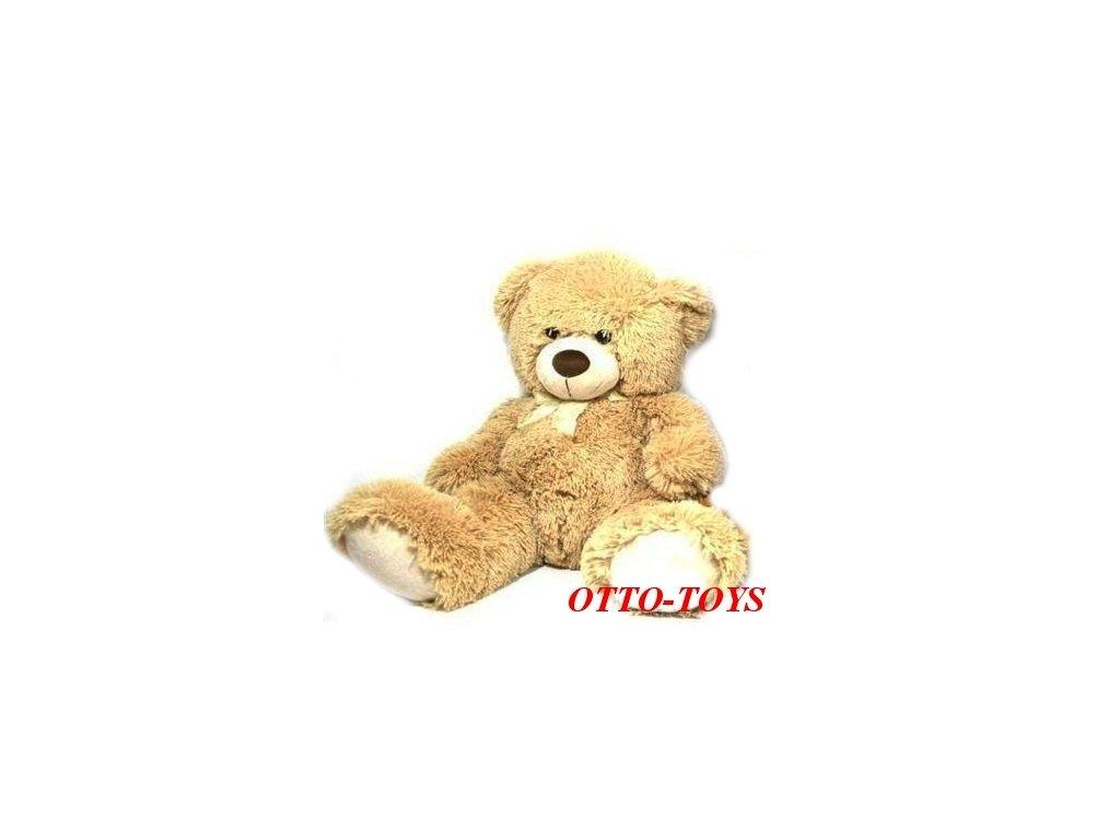 b6d9fe180 Velký plyšový medvěd 80cm - Atestované hračky