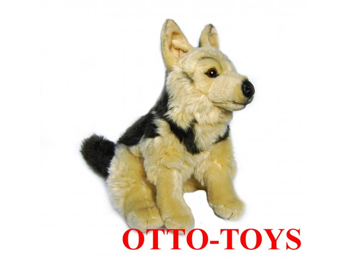 Hračka plyšový pes vlčák