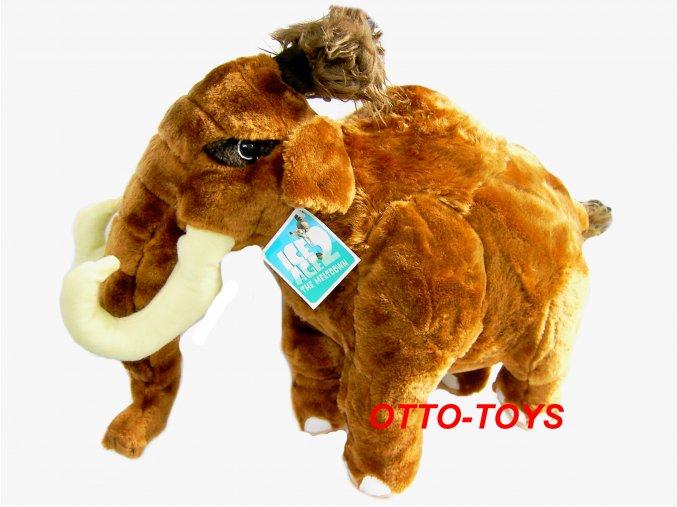 Plyšový mamut z Doby ledové