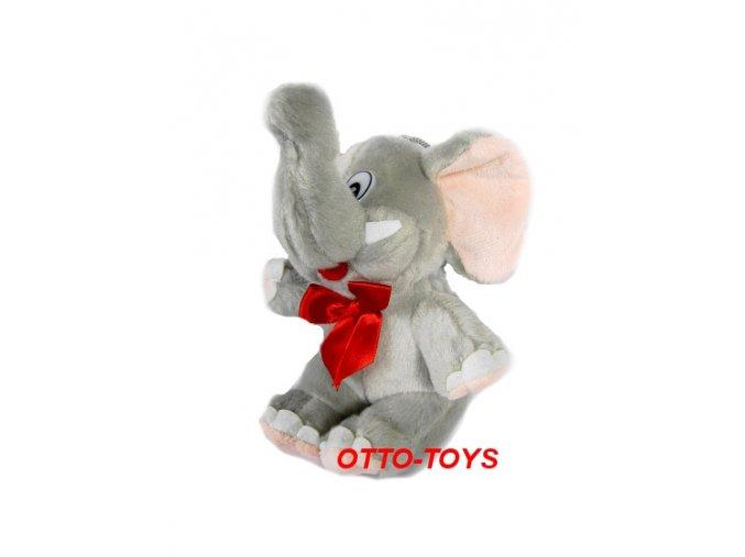 Plyšový slon malý