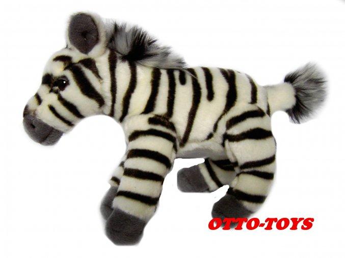 levná plyšová zebra
