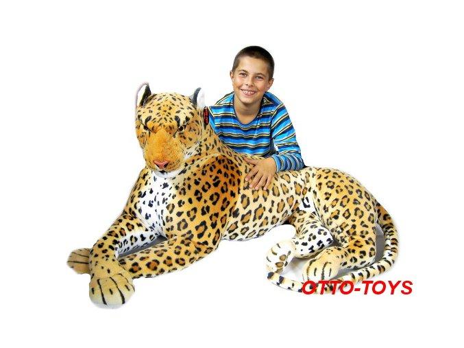 Maxi obrovský plyšový leopard