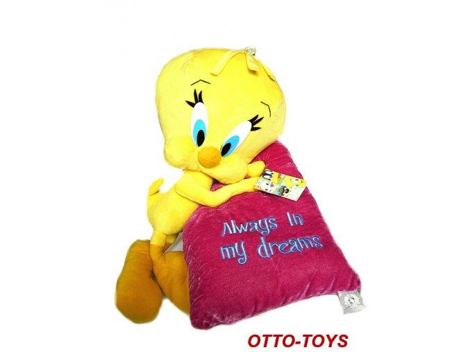 Plyšové kuře Tweety hračka Disney 47cm