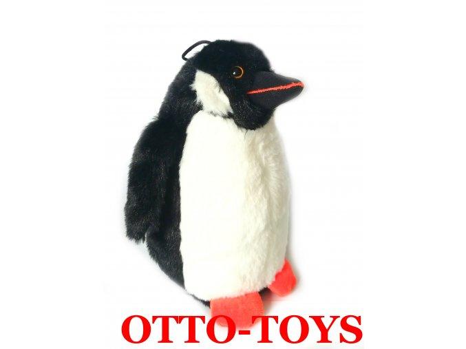 Plyšový tučňák mláďátko