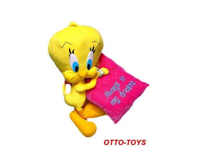 Velké plyšové hračky Disney kuře Tweety 70cm