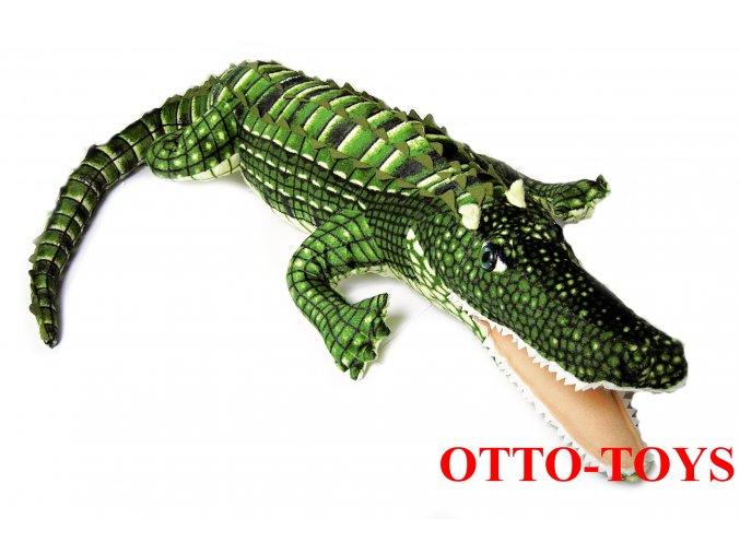 Velký plyšový krokodýl