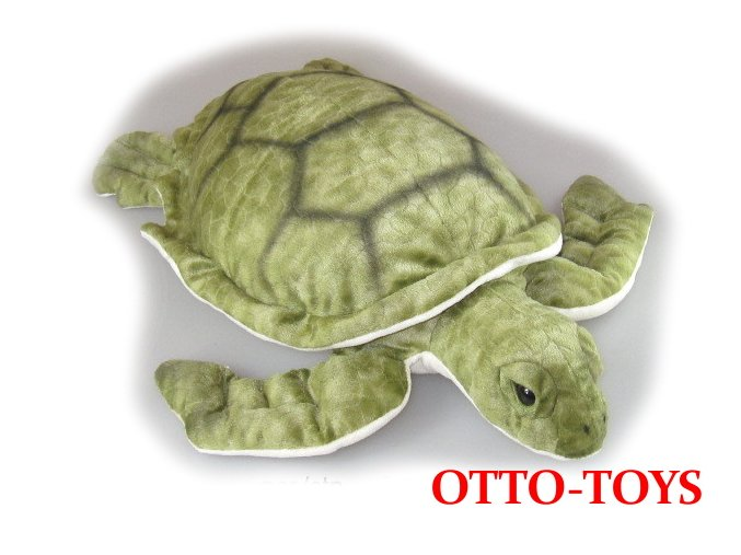 velká plyšová želvička