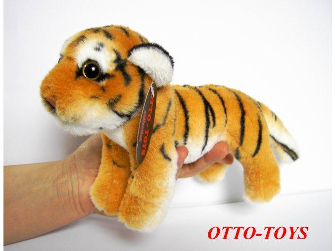 Plyšový tygr stojící