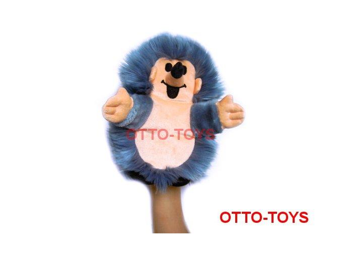 Plyšový ježek maňásek