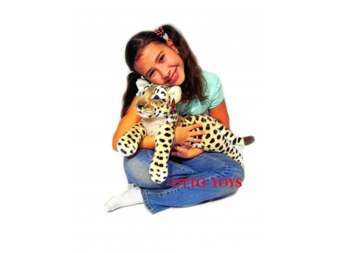 Plyšák leopard