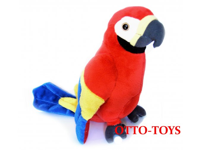 levný plyšový papoušek