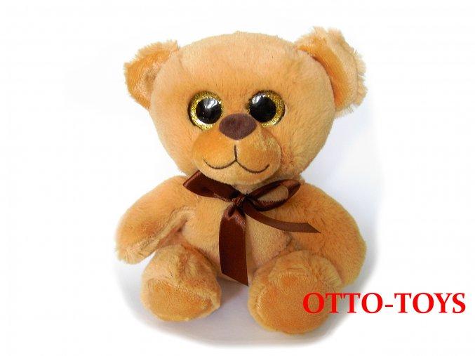 Měkoučký plyšový medvěd velké oči