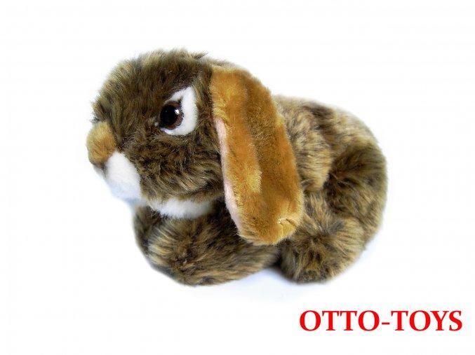 Malý levný plyšový králíček beran