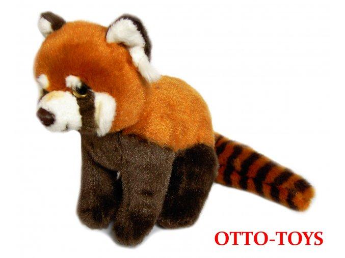 Plyšák panda červená