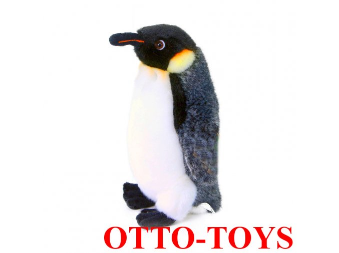 Malý levný plyšový tučňák