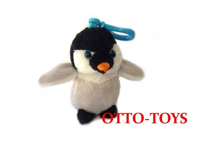 Plyšový tučňák přívěšek
