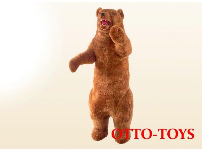 Obrovský plyšový medvěd