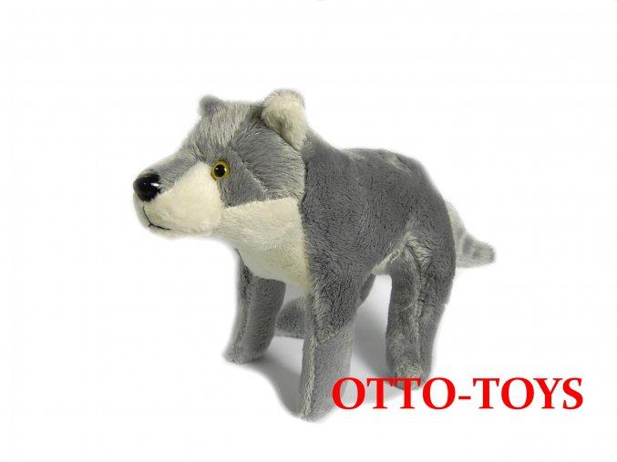 levný plyšový vlk