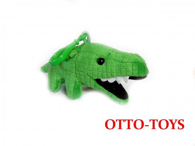 plyšový krokodýl přívěšek