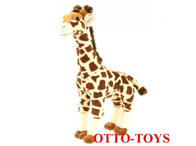 Levná plyšová žirafa 16cm
