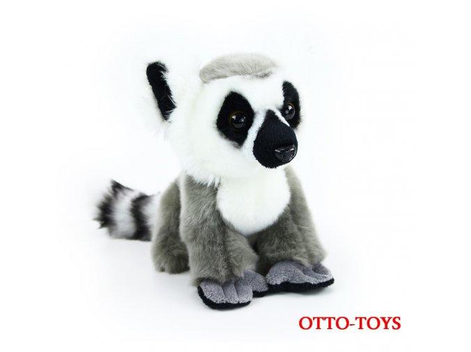 malý levný plyšový lemur