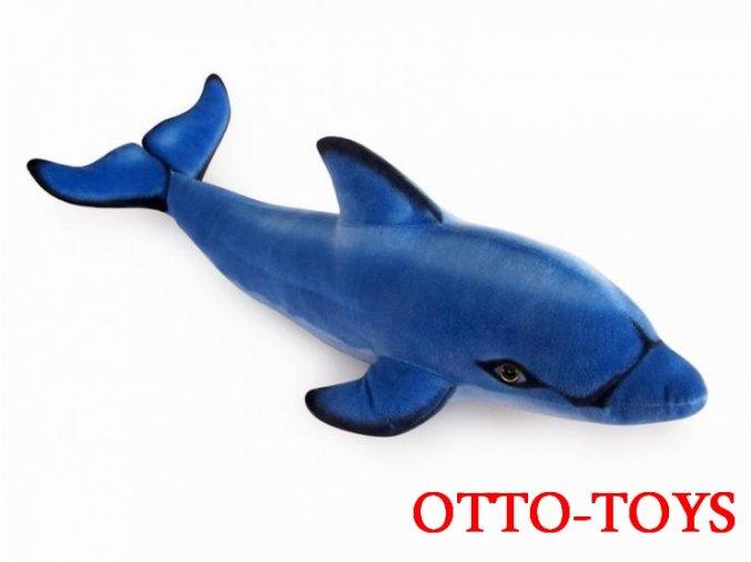 velký plyšový delfín