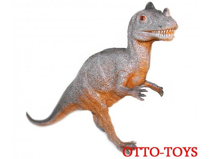 Velký gumový dinosaurus