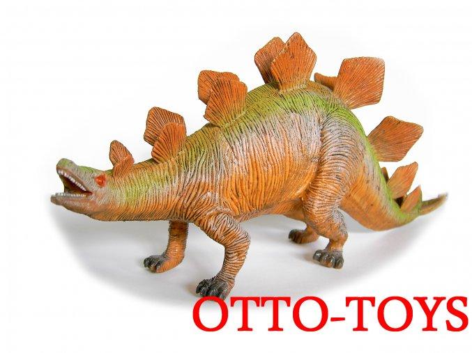 Velký dinosaurus z gumy