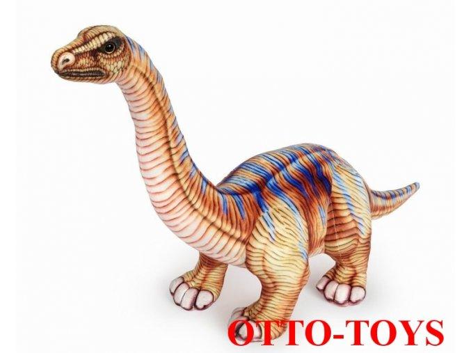 Velký plyšový dinosaurus