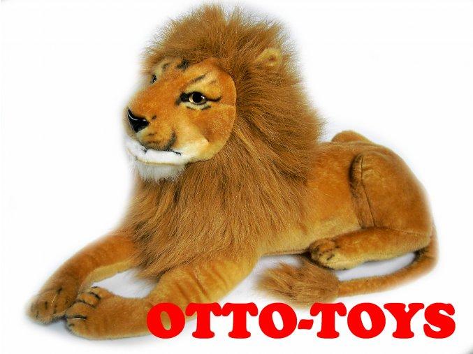 Velký plyšový lev