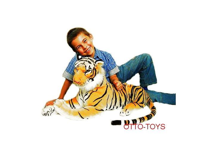 Velký plyšový tygr