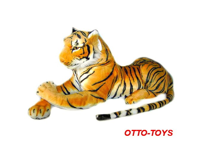 Plyšový tygr velký maxi 150cm
