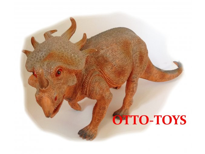 velký gumový dinosauři