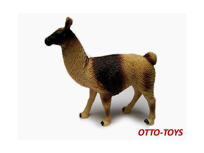 Gumová hračka lama 10cm